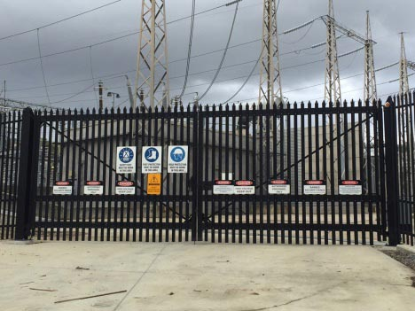 High Security Steel Gates