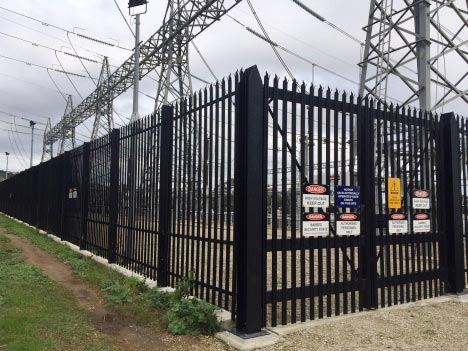 Palisade & Maxiguard Fencing for High Security